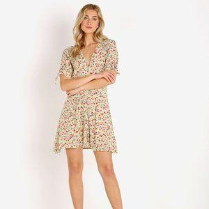 Faithfull the Brand Marianne Mini Dress Bastille Floral Print